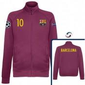 Veste Barcelone Messi 2016/2017 Grenat Soldes Marseille