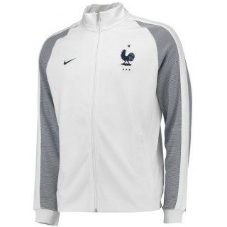 Veste Equipe De France 2016/2017 Euro 2016 Blanc Boutique Paris