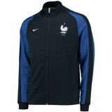 Veste Equipe De France 2016/2017 Euro 2016 Marine Remise Nice