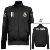Veste Real Madrid Bale 2016/2017 Noir Vendre