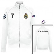 Veste Real Madrid Ronaldo 2016/2017 Blanc Prix France