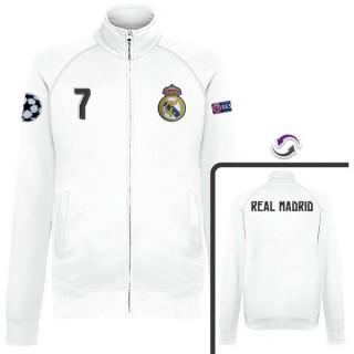 Veste Real Madrid Ronaldo 2016/2017 Blanc Prix France