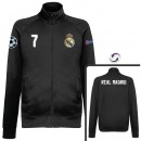 Veste Real Madrid Ronaldo 2016/2017 Noir Vendre Paris