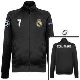 Veste Real Madrid Ronaldo 2016/2017 Noir Vendre Paris