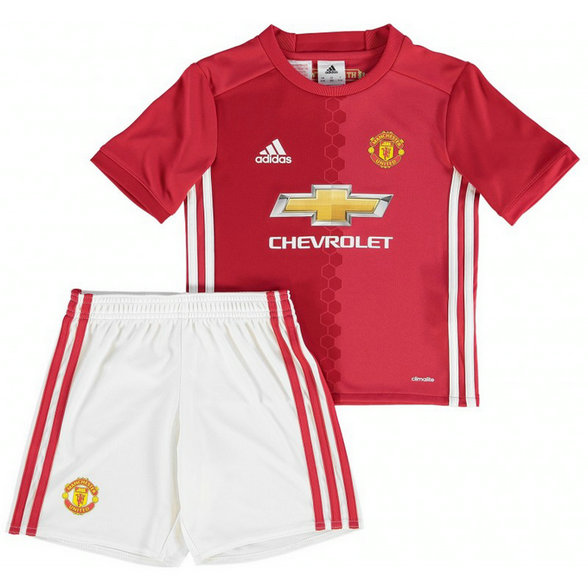 Ensemble Manchester United Enfant 2016/2017 Maillot Short Domicile