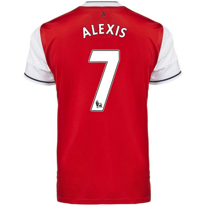 Maillot Arsenal ALEXIS 2016/2017 Domicile