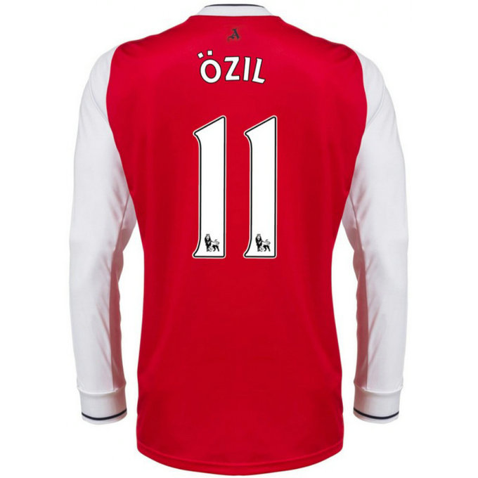Maillot Arsenal OZIL 2016/2017 Domicile Manches Longues