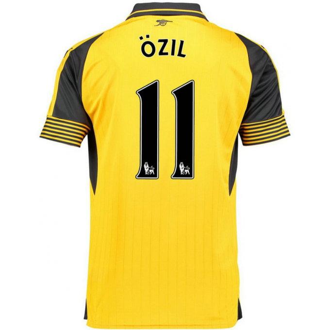 Maillot arsenal ozil 2016 2017 ext rieur vendre des prix bas for Arsenal maillot exterieur