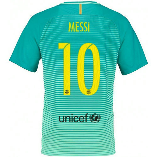 Maillot Barcelone Enfant MESSI 2016/2017 Third