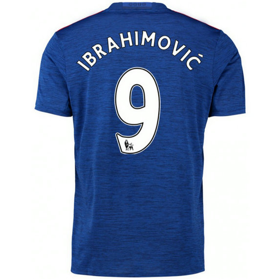 Maillot Manchester United IBRAHIMOVIC 2016/2017 Extérieur