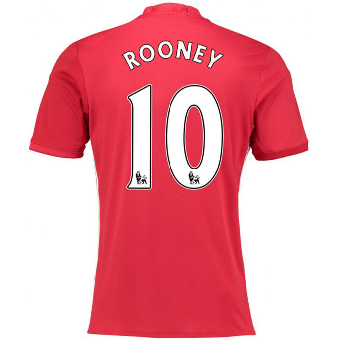 Maillot Manchester United ROONEY 2016/2017 Domicile