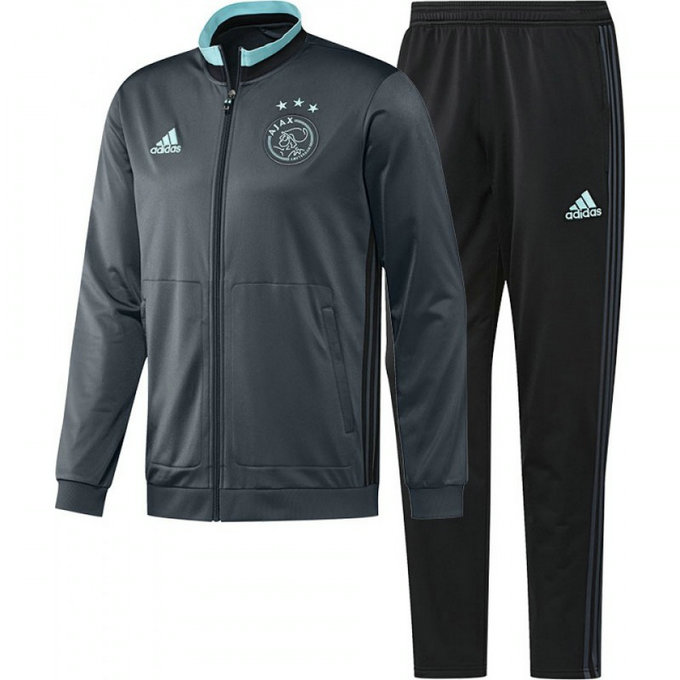 Survetement Ajax 2016/2017 Gris