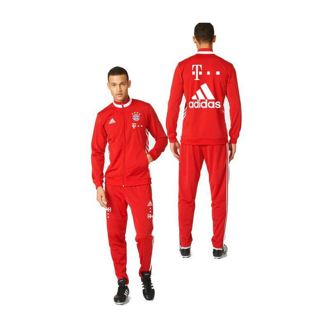 Survetement Bayern 2016/2017 Sponsors Rouge