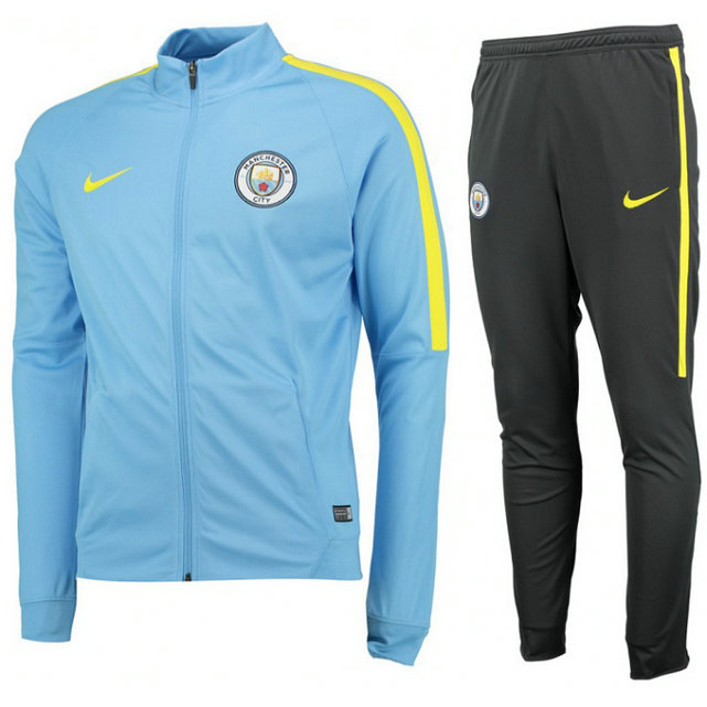 Survetement Manchester City 2016/2017 Bleu