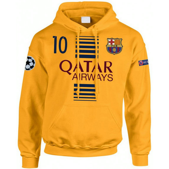 Sweat a Capuche Barcelone Enfant MESSI 2016/2017