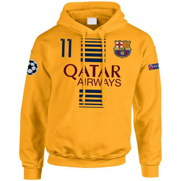 Sweat a Capuche Barcelone NEYMAR 2016/2017