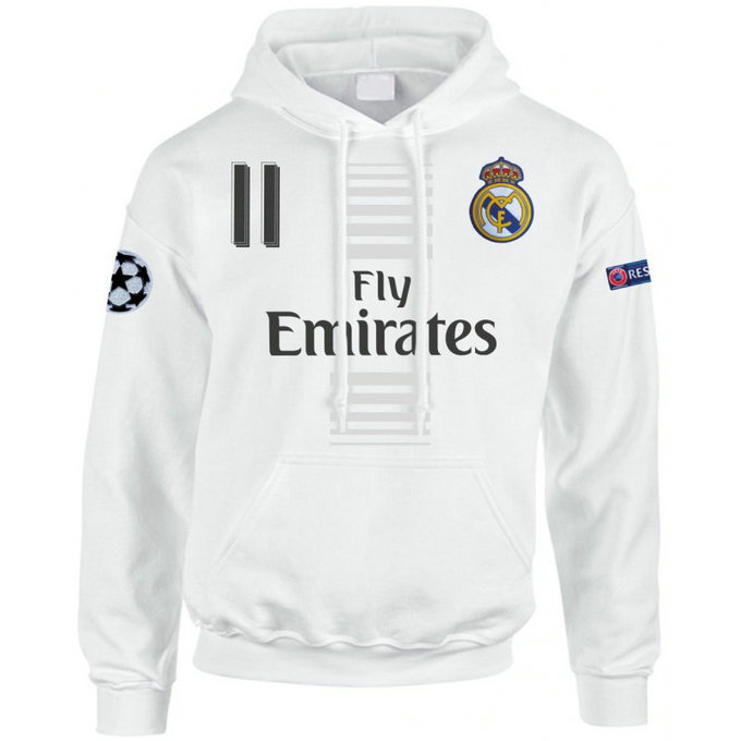Sweat a Capuche Real Madrid BALE 2016/2017