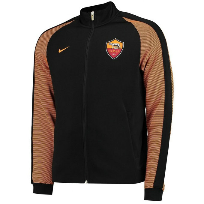 Veste As Roma 2016/2017 N98 Noir