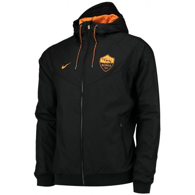 Veste As Roma 2016/2017 Noir