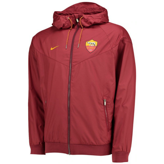 Veste As Roma 2016/2017 Rouge