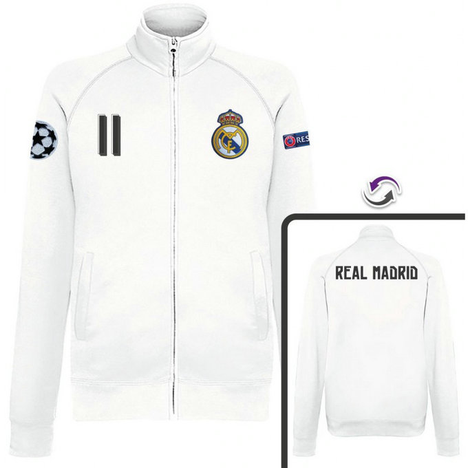 Veste Real Madrid Bale 2016/2017 Blanc