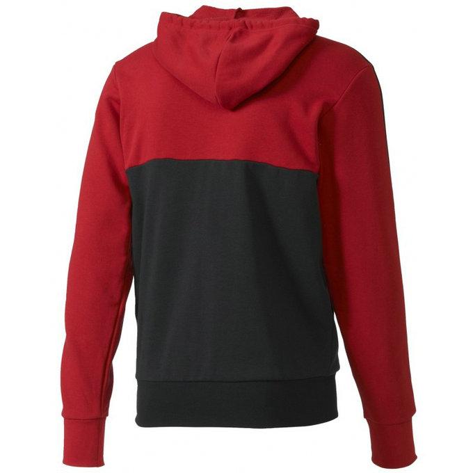 veste milan ac 2016 2017 3s rouge noir en soldes. Black Bedroom Furniture Sets. Home Design Ideas