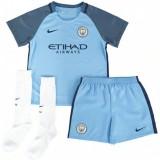 Ensemble Manchester City Enfant 2016/2017 Maillot Short Chaussettes Domicile Soldes