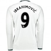 Maillot Manchester United IBRAHIMOVIC 2016/2017 2016/2017 Third Manches Longues Promotions