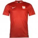 Maillot Pologne Fan Shirt 2016/2017 EURO 2016 En Ligne