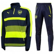 Survetement Arsenal 2016/2017 Marine Fluo Destockage Soldes Paris