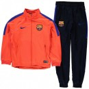 Survetement Barcelone Enfant 2016/2017 Orange Pas Cher Marseille