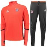 Survetement Bayern 2016/2017 Rouge Training Destockage Paris