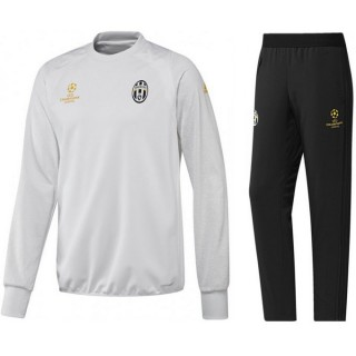 Achat de Survetement Juventus Ligue Des Champions 2016/2017 Blanc Destockage