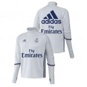 Survetement Real Madrid 2016/2017 Training Blanc Sponsors Paris