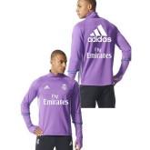 Survetement Real Madrid 2016/2017 Training Mauve Sponsors Site Officiel