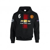 Collection Sweat a Capuche Manchester United POGBA 2016/2017 Soldes